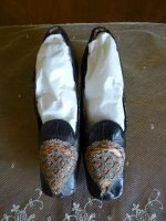 2 antique shoes 1860