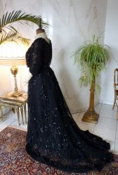 antique ball dress 1901