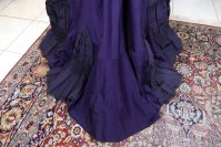 15 antique Madame Percy Visiting gown 1898