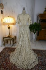 28 antique ALTMANN Battenburg lace dress 1904