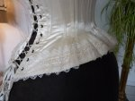 24 antique wedding corset 1880