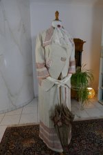 3 antique PLYM Walking dress 1912