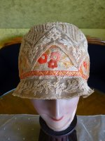1 antique cloche hat 1927