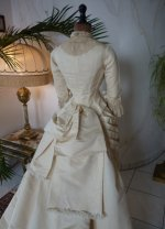 31 antique wedding gown 1874