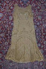 36 antique beaded flapper evening dress 1922