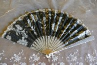 2 antique fan 1901