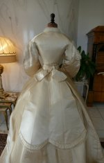 23 antique wedding dress 1876
