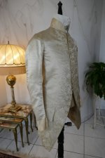 38 antique rococo wedding coat 1740