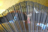 4 antique fan butterflys 1905