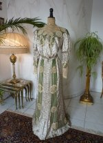 2 antique recpetion gown 1904