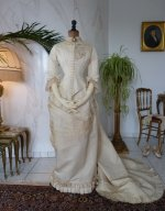 29 antique wedding gown 1874