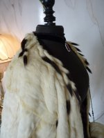 11 antique ermine cape