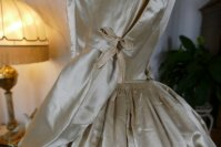 14 antique wedding dress 1845