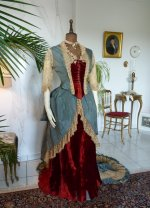 11 antique Ball gown 1876