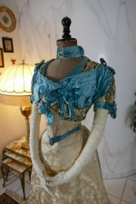 3 antique evening gown 1895