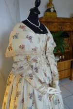 3 antique romantic period dress 1839