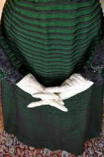 9 antique reception gown 1896