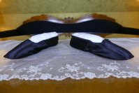9 antique Biedermeier slipper 1840