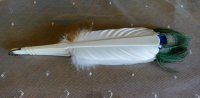 12 antique feather fan 1915