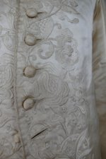 9 antique rococo wedding coat 1740