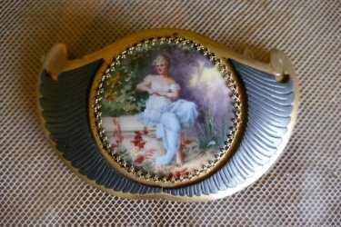 antique belt buckle 1905