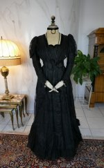 12 antique afternoon dress 1907