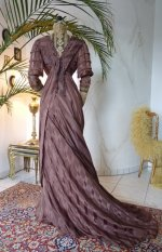 33 antique art nouveau dress
