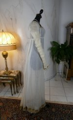 19 antique empire dress 1802