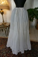 9 antique petticoat 1908