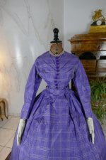 25 antique crinoline dress 1860