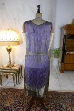 21 antique BABANI evening dress 1925