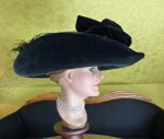 18a antique lampshade hat 1912