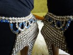 16 antique rhinestone shoes 1920