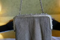 10 antique metal mesh purse 1915
