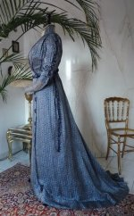 Jugendstil-Kleid, Jugendstilkleid, Kleid aus dem Jugendstil, antikes Kleid, antikes Nachmittagskleid, Kleid 1910, Mode um 1910, antikes Kleid kaufen, robe ancienne, antieke jurk, victoriaanse kleding, antik ruha