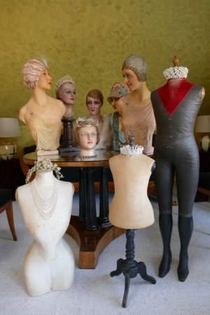 antique mannequins