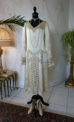 19 antique wedding dress 1920