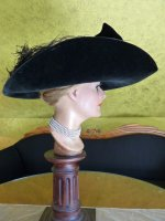 18 antique lampshade hat 1912