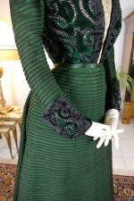 27 antique reception gown 1896