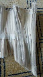 35 antique wedding corset 1880