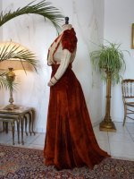 38c antique gown