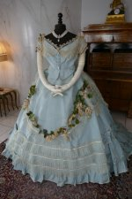 3 antique victorian ball gown 1859
