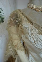 10 antique evening dress WORTH 1898