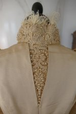 26 antique silk jacket 1895
