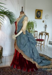 antique Ball gown 1876