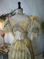 31 antique ball gown 1889