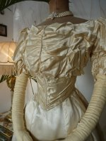 12 antique ball gown 1892