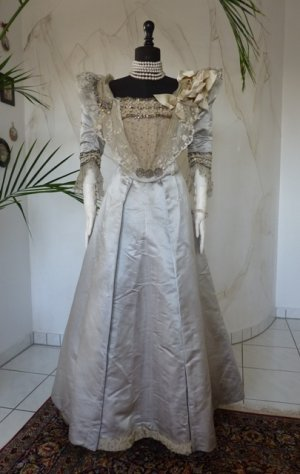 antique ball gown