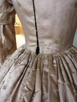 33 antique dress 1840