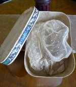 30 antique wedding bonnet 1840